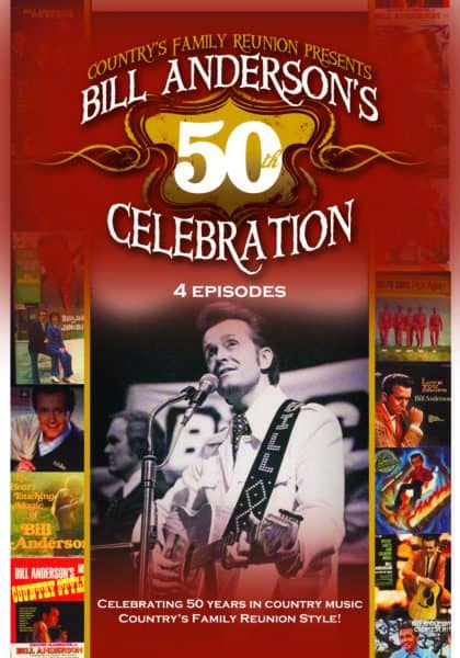 Bill Anderson's 50th Celebration