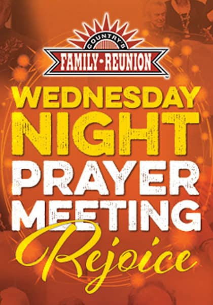 Wednesday Night Prayer Meeting Rejoice!
